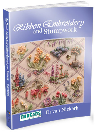 Books & kits -Ribbon Embroidery and Stumpwork (RES) book and kits