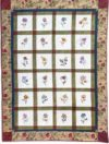 Jacobean Quilt Block Kit