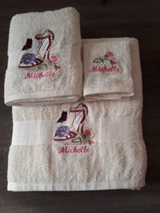 Custom Towel set Michelle
